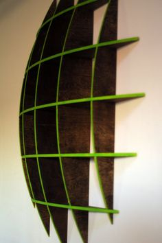 Geometric Sphere Shelf. $179.00, via Etsy.
