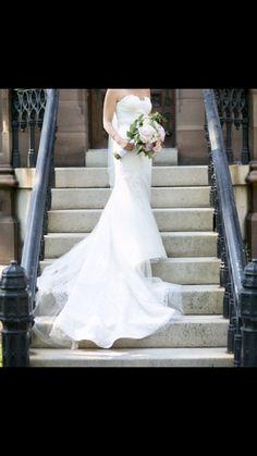 842009bdb10 Rosa Clara  Romantic Trumpet  size 2 used wedding dress - Nearly Newlywed