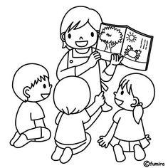 Mateřská škola učitelka výuky čtení, Omalovánky   Omalovánky