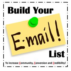 Want to discover the most strategic way to build your clientele and customers, increase attendance and conversion rates for your brand? Build your email list. Discover how an experience helped focus me on this practice. This is the #1 thing you can do to grow your business!