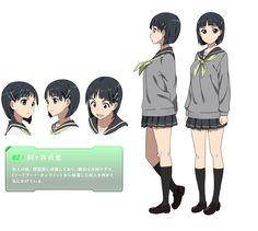 Suguha Kirigaya ~ (SAO) Charakter Design : Fairy Dance Arc
