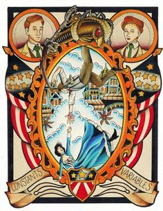 Bioshock Infinite Traditional Tattoo Painting by Steve Rieck Las Vegas