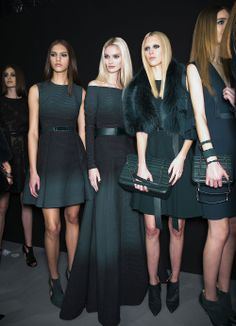Elie Saab Ready To Wear Autumn 2014 - Backstage
