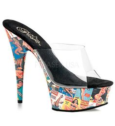 Pin Up Girl Heels