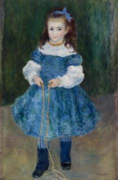 Pierre-Auguste Renoir - Girl with a Jump Rope (Portrait of Delphine Legrand)