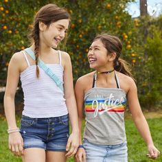 Shop cute & colorful tween girl outfits with the latest in clothing at Justice! Discover fun printed tops, on-trend jeans & more of the latest fashions she's sure to love. Tween Fashion, Girl Fashion, Fashion Outfits, Patterned Leggings, Colorful Leggings, Justice Shorts, Justice Clothing, Swimming Outfit, Girls In Mini Skirts
