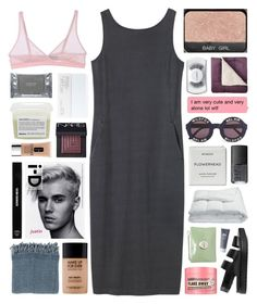 """can't get out of my head and i need you to save me."" by annamari-a ❤ liked on Polyvore featuring Toast, Cosabella, Soap & Glory, Alexander Wang, Edward Bess, MAC Cosmetics, JCPenney Home, MAKE UP FOR EVER, NARS Cosmetics and Surya"
