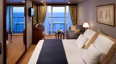 It's like staying at the best boutique hotel, but it floats. #cruise #travel