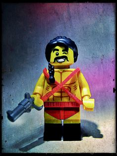 Lego Tv, Movie Characters, Fictional Characters, Stone Statues, Lego Creations, Savage, Iron Man, Guns, Good Things