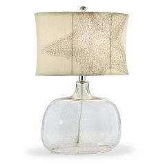 Starfish Lamp..will look perfect in my den with nautical accents.  Grandinroad
