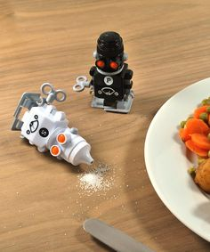 Suck UK Robot Salt & Pepper Shakers | zulily