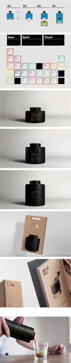 Enjaka Cocktail Mix — Tatabi Studio This is great #packaging #branding #marketing PD