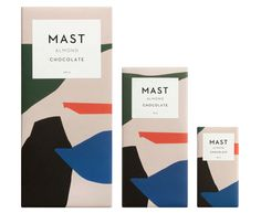 Almond Chocolate Bars by Mast Brothers