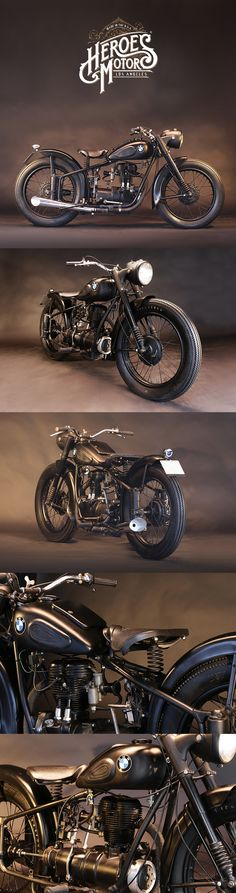 1950 BMW 250cc R25 | photography by Serge Bueno