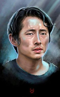 GLENN RHEE Walking Dead Fan Art, Walking Dead Pictures, Walking Dead Series, Glenn Rhee, Steven Yeun, Rick Grimes, Daryl Dixon, Best Shows Ever, Awesome Stuff