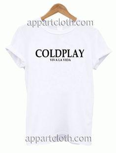 COLDPLAY Viva La Vida Unisex Tshirt