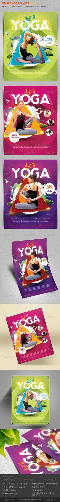 Yoga Flyer   Poster 2 Yoga, Printing and Graphics - yoga flyer