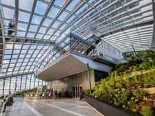 Move on up to catch the best views in London at Sky Garden