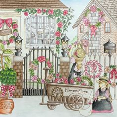 By @anne_beddingfeld  Davlin Publishing #adultcoloring
