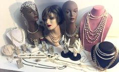 Lot of Vintage Jewelry Faux Pearls Necklaces Bracelets Earrings Brooches 31 item #unbranded