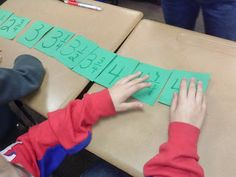 Loves...Third Grade and a number line activity (using fractions)