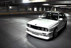Alpinweiss BMW E30 M3.