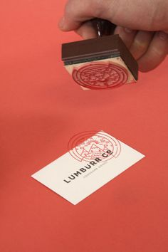 Lumbürr co. by Ben Johnston, via Behance