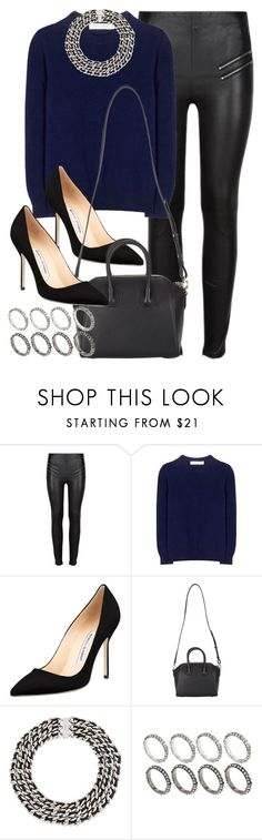 """""""Style #9471"""" by vany-alvarado ❤ liked on Polyvore featuring Yves Saint Laurent, Victoria Beckham, Manolo Blahnik, Givenchy and ASOS"""