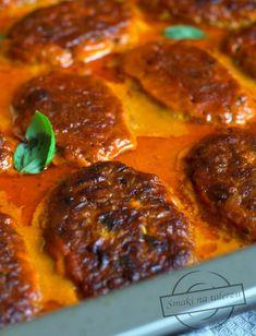 Gołąbki bez zawijania – z mięsa drobiowego – Smaki na talerzu Yummy Food, Yummy Recipes, Curry, Pizza, Dinner, Ethnic Recipes, Fit, Dining, Tasty Food Recipes