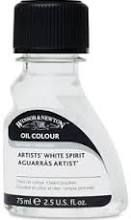 White Spirit Brush Cleaner for oil paints