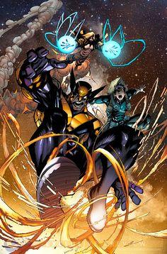 from Wolverine Vol.6 #6 art by Gerardo Sandoval