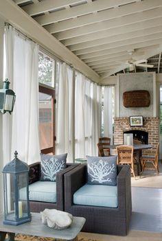 27 Aiken Street - Beach Style - Porch - Our Town Plans