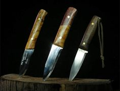 Handmade Bushcraft Knives: Dale Collet: New Forest Bushcraft