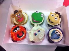 Muppet Cupcakes. Which one is your favourite?