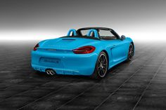 Boxster S in Riviera Blue, Courtesy of Porsche Exclusive - Cars, ..