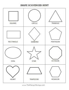 Preschool Scavenger Hunts: 5 Ways to Play - The Many Little JoysYou can find Shapes preschool and more on our website.Preschool Scavenger Hunts: 5 Ways to Play - The. Preschool Scavenger Hunt, Preschool Learning Activities, Free Preschool, Preschool Printables, Preschool Lessons, Toddler Learning, Preschool Worksheets, Scavenger Hunts, Free Printables