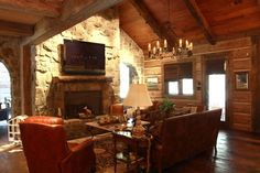 Concrete Log Homes!   This is perfect for Texas!   everlogs.com Mine mine mine