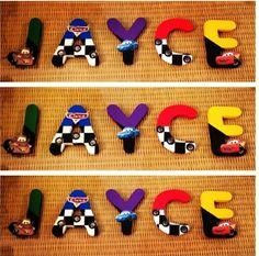 Disney Cars Letters! !