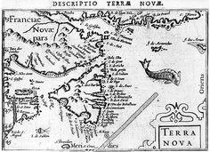 Barent Langenes Map, 1602