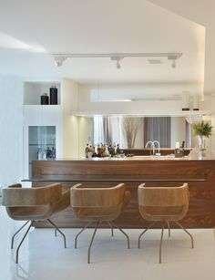 Stylish bar at home by Roberta Devisate.