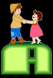 Alfabeto animado de Heidy con Pedro.