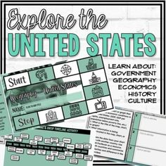 Learn about the United States by exploring the 5 themes of Social Studies (Government, Economics, Geography, History, and Culture) of the United States. In this lesson, students:Analyze how technology interacts with the environment and how increased use of technology affects the burden and use of na...
