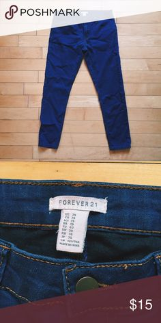 Forever 21 Skinny Jeans Great fall jeans! Forever 21, size 29 Forever 21 Jeans…