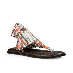 abbc3a5569a866 Sanuk Womens Sandals Yoga Sling 2 Prints