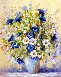 quenalbertini: Flowers by Antonio Dzhanilyatti Flower Artists, Beautiful Nature Wallpaper, Buy Paintings, Pictures To Paint, Watercolor Print, Spring Flowers, Original Art, Canvas Art, Artwork