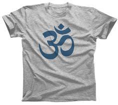 Men's Om Symbol T-Shirt New Age Yoga