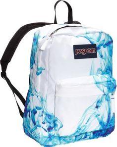 JanSport SuperBreak Backpack Multi / Blue Drip Dye - via eBags.com!