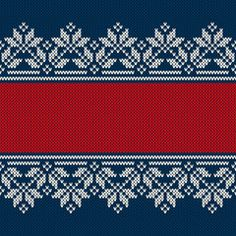 New Year Background with a Place for Text. Traditional Fair Isle