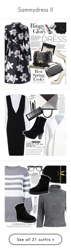 """Sammydress II"" by vanjazivadinovic ❤ liked on Polyvore featuring sammydress, Dsquared2, NARS Cosmetics, H&M, Tiffany & Co., Urban Decay, Burberry, longsleeve, polyvoreeditorial and Delpozo"