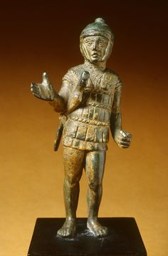 Etruscans bronze statuette of a warrior C.450BC